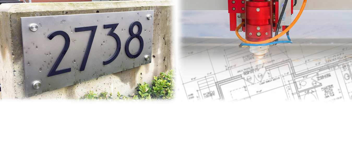 Address Signage Company Commercial Residential Home Number Signs